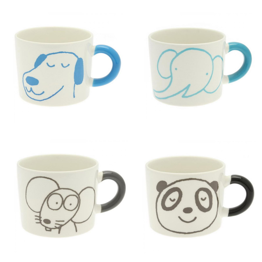 Ninja mugs and animal mugs for Animal face mugs