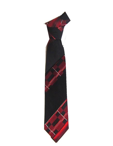 Red Plaid Necktie