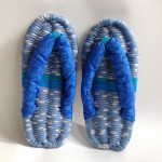 Blue & Blue Eco-Zori Japanese Slippers