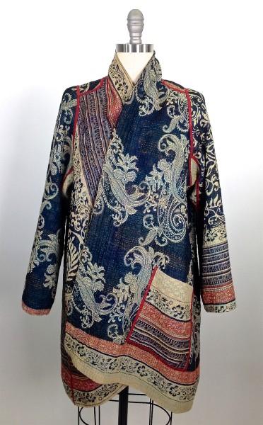 Paisley A-Line Jacket