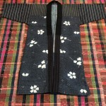 Indigo Farmer's Jacket with Sashiko and Shibori