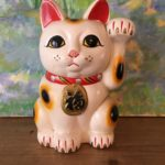1950's Ceramic Lucky Cat