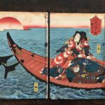 Double Volume Woodblock E-hon by Kuniyoshi,  photos #1