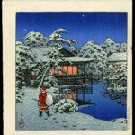 Kawase Hasui's Santa in Japan